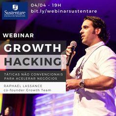 Webinar Sustentare Growth Hacking: Táticas Não Convencionais Para Acelerar Negócios Webinar, Memes, Events, Meme