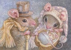 "Art by Lynn Bonnette: ""Mouse Grandson"""