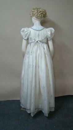 Laughing Moon Mercantile Regency dress. Great pattern.