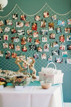 Galleries / Emilee\'s Mermaid Themed Birthday Party | The Little Umbrella