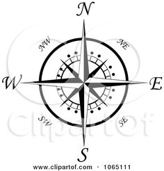 Compass for tabletop Compass Rose Template Printable | Royalty-Free Vector Clip Art Illustration of 3d Wooden Arrow ...