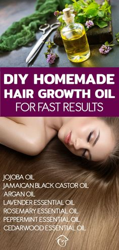 My hair really loves this hair growth oil. This easy DIY homemade hair growth oil will give you fast results. It contains powerful carrier oils and essential oils proven to speed up hair growth. I show you how to use this natural recipe is the best pro Cedarwood Essential Oil, Essential Oils For Hair, Young Living Essential Oils, Home Remedies For Hair, Hair Loss Remedies, Homemade Hair Growth Oil, Diy Hair Growth Oil, Mascara, Hair Growth Treatment