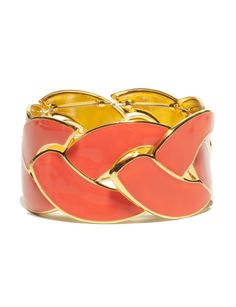 Jewelry for Women: Enamel Braid Bracelet: The Limited