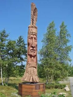 Peter Toth Whispering Giant (Bar Harbor Campground) Maine