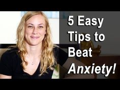 Stress-Free Challenge:: VIDEO- 5 Easy Tips to Beat Anxiety! Mental Health Help with Kati Morton - Empowered Partnerships