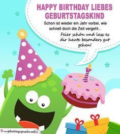 Einladungskarte Kindergeburtstag Ausdrucken. Geburtstagssprüche Für  Kindergeburtstag 4