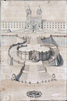 Scalinata di Piazza di Spagna - 1723-1726, Alessandro Specchi y Francesco de Sanctis