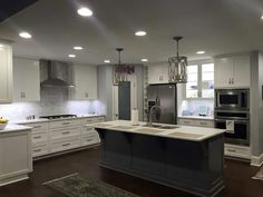 Another beautiful kitchen by Kitchen Craft, Inc.!