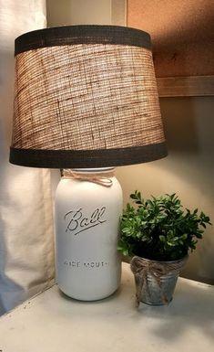 Mason Jar Lamp – Stacy Turner Creations
