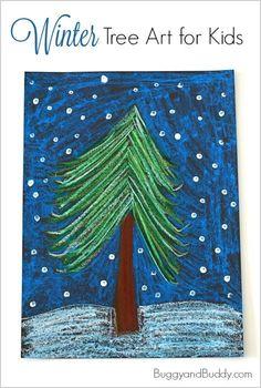 Pastel Winter Tree Art Project for Kids Winter Tree Art Project for Kids using oil pastels! ~ Winter Tree Art Project for Kids using oil pastels! Winter Art Projects, School Art Projects, Projects For Kids, Kindergarten Art, Preschool Art, Winter Tree Drawing, Winter Thema, Oil Pastel Art, Oil Pastels
