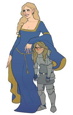 Allura and Kima, oh my gosh that's adorable!