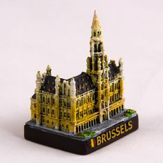 Collectible Miniature House: Belgium. Brussels Town Hall