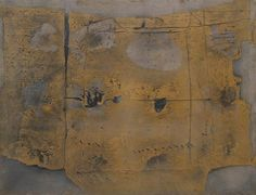 Antoni Tapies - Great Painting