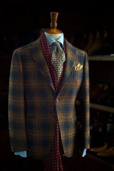 Ring Jacket Moon Jersey Tweed
