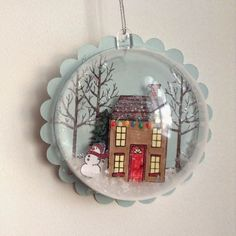 Thoughts of a Grasshopper: White Christmas Ornament Rustic Christmas Crafts, White Christmas Ornaments, Christmas Sewing, Xmas Crafts, Christmas Projects, Christmas Tree Decorations, Christmas Diy, Christmas Cards, Christmas Mantles