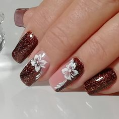 Acrylic nail art 421579215121492172 - Source by Potsydizzy Nagellack Design, Nagellack Trends, Nail Art Designs Videos, Cute Nail Designs, Diy Nails, Cute Nails, Pretty Nail Art, French Tip Nails, Nagel Gel