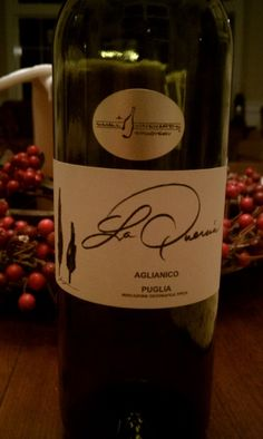 2010 La Quercia, Italy. Great wine with a ton of red fruit flavour!