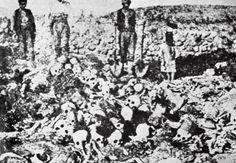 Leichenfeld: Der Völkermord an den Armeniern hinterließ wortwörtlich Berge...