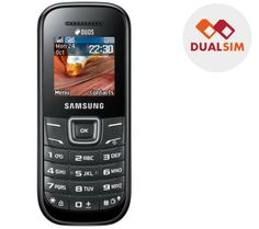 Samsung Dual Sim Mobile Phone ONLY £36 http://www.hiwix.co.uk/e1202-black.html