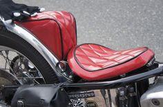 Custom seat #chopper #motorcycle