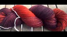 Purple Rainbow Yarns - Hand Dyed Yarns - 100% Superwash Merino Wool http://purplerainbowyarns.wix.com/purplerainbowyarns