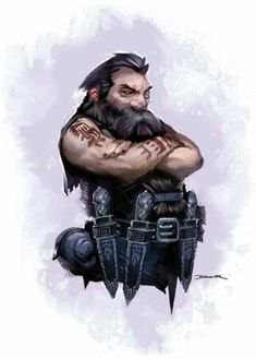 m Dwarf Rogue Assassin Daggers Dwarven close quarters warrior Fantasy Dwarf, Fantasy Rpg, Medieval Fantasy, Dungeons And Dragons Characters, Dnd Characters, Fantasy Characters, Fantasy Character Design, Character Concept, Character Art