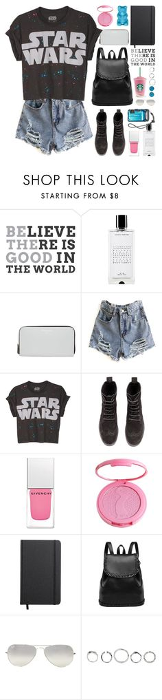 """may the force be with you"" by jesuisunlapin ❤ liked on Polyvore featuring Agonist, Balmain, H&M, Givenchy, tarte, Shinola, Ray-Ban and AeraVida"