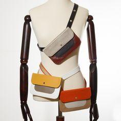 Belt bags for hands free convenience Belt Bags, Handbag Accessories, Sling Backpack, Leather Handbags, Hands, Backpacks, Free, Fashion, Moda