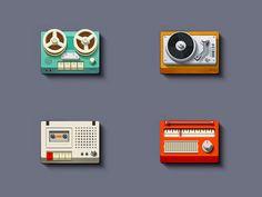 Simple Music #Icons by Nick Kumbari
