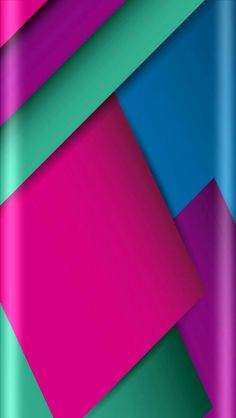 Pink Blue Purple Abstract Wallpaper