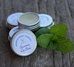 Based on Marlborough beeswax and Castor/Marlborough Olive Oil these tasty balms help keep your lips soft. Pure yummy Spearmint Essential Oil is used, and we source our natural beeswax locally. Spearmint Essential Oil, Essential Oils, Natural Lip Balm, Soft Lips, Handmade Soaps, Olive Oil, The Balm, Tasty, Skin Care