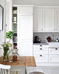 """""""Mysigt kök✨#kök #kitchen #inredning #interior4all #interior123 #interiorinspo…"""