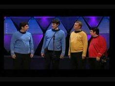 Hi-Fidelity Star Trek Quartet - Ridiculous! LOL!