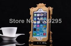 New 2014 Hot sale Anna Su Girls Mirror Phone Case for iPhone5 iPhone 5 5S Cover case of protective sleeve Free Shipping $12.00