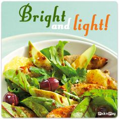 By now, you should be feeling trim again. Just in case, here's one more fresh and wholesome salad. #dailydish #picknpay #freshliving #PnP