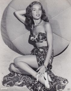 Dona Drake 1948....Loving everything about this outfit!