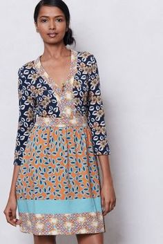 Fables Print Dress - Perfect weekend dress