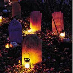 halloween party graveyard | Graveyard | Halloween Party Ideas