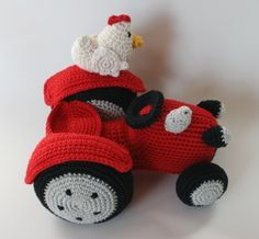 Tractor http://www.amigurumiswebshop.nl/index.php?action=article&group_id=19&aid=115&lang=NL