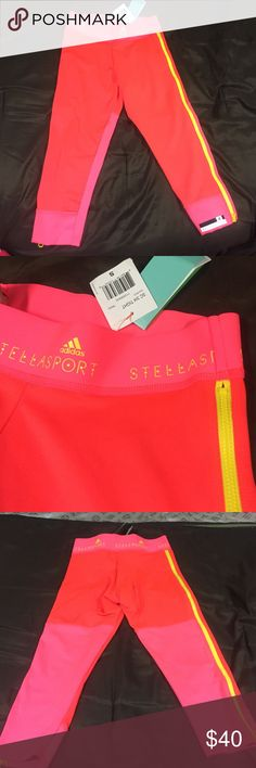 Stella McCartney Adidas leggings Brand new w tags. Adidas by Stella McCartney Pants Leggings