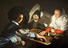 It's About Time: 1600s Woman Artist - Judith Leyster (Dutch artist, 1609-1660)
