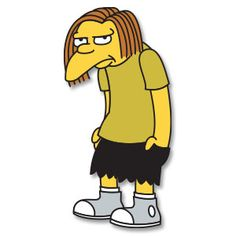 Dolph Starbeam Bully Simpsons Free Vector