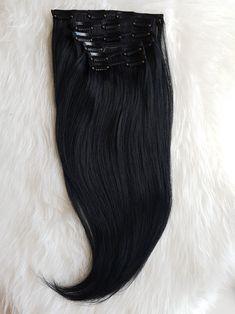 Prémium Fekete csatos póthaj ❤️ 😍 Hosszú élettartamú, több évig gyönyörű, puha lágy prémium minőségű 😍 Raktáron 40-60cm hosszig 😍 Kapható még az alábbi változatokban: Damilos póthaj, felcsatolható lófarok copf, tresszelt haj, tincsezett haj  Megrendelhető webshopon házhozszállítással: csatospothaj.hu/webshop Viber: +36303898828  #csatospothaj #csatospóthaj #hajhosszabbitas #hajhosszabbítás  #Felcsatolhatópóthaj Fashion, Moda, Fashion Styles, Fasion
