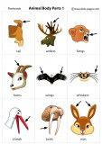 Animal Body Parts 1 flashcard English Learning Spoken, Learning English For Kids, English Lessons For Kids, Kids English, English Teaching Materials, English Study, Teaching English, Learning Spanish, English Vocabulary Words