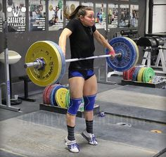 Teaching the body instead of the brain to correct errors in the snatch, clean or jerk