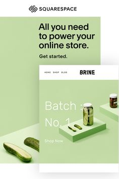Get everything you need to power your online store with Squarespace, an all-in-one platform.