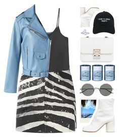 """Z E B R A"" by seriouskatya ❤ liked on Polyvore featuring Marc Jacobs, MANGO, Maison Margiela, Nasaseasons, Design Inverso, Sunday Somewhere, Chicwish, Chesapeake Bay Candle, Polaroid and BillyTheTree"