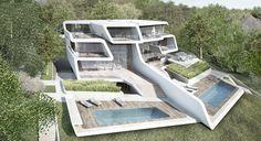 Küsnacht Villa - Architecture - Zaha Hadid Architects
