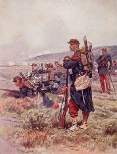 Uniformes France-Infanterie de ligne