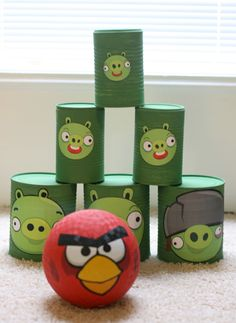 Can Game Angry Birds Party